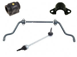 Front Anti Roll Bar, Mountings & Link Rods
